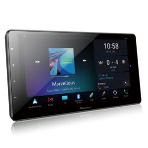 """Multimídia Pioneer Receiver Tela 9"""" Touch Screen Capacitiva Hd Dmh-zs"""