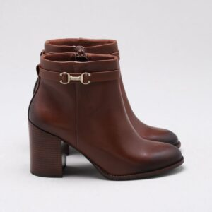 Ankle Boot Couro Ébano